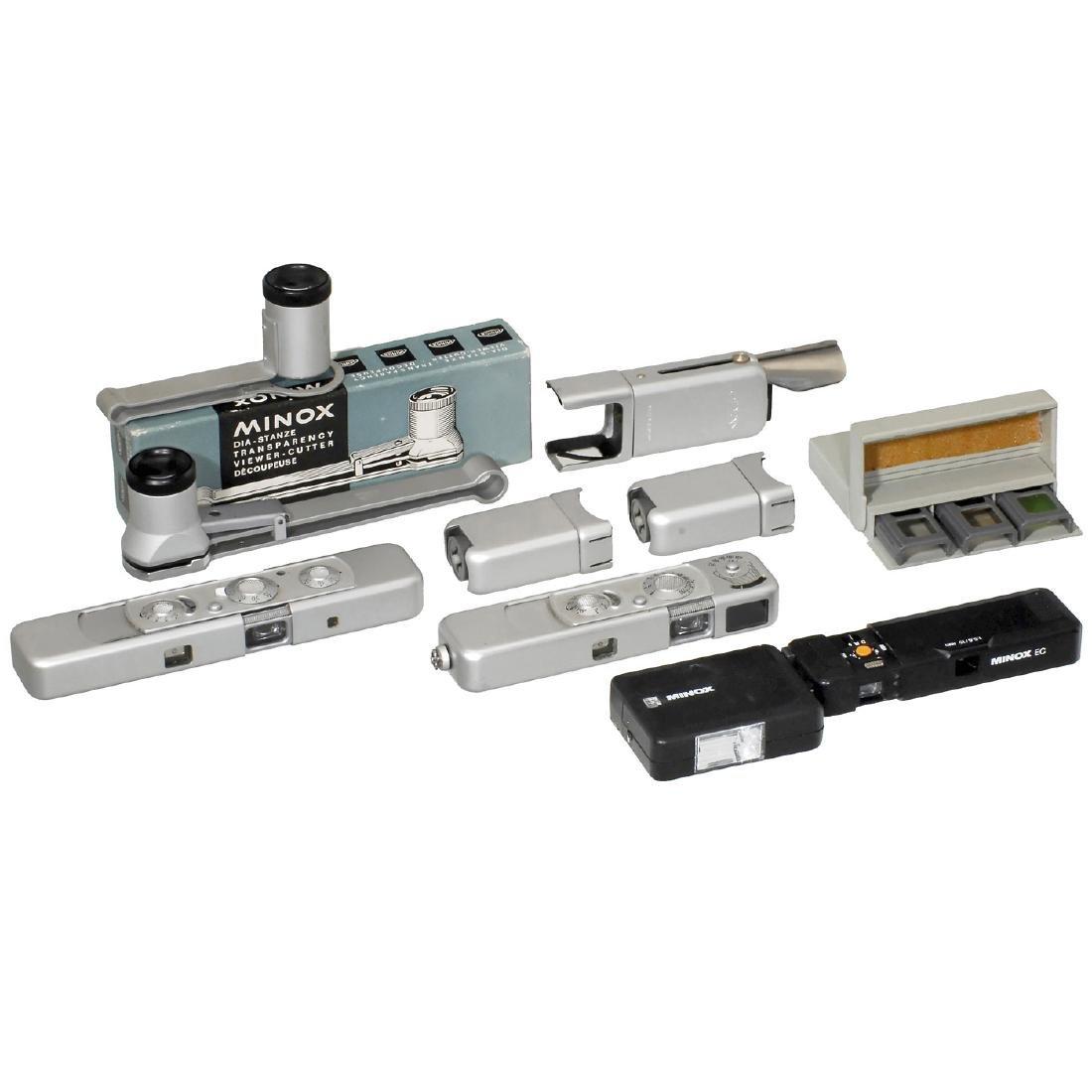 Minox B, Minox C, EC and Accessories