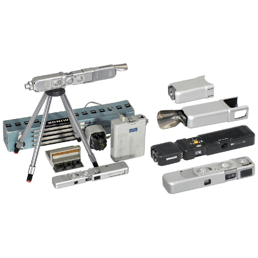 4 Minox Cameras and Accessories
