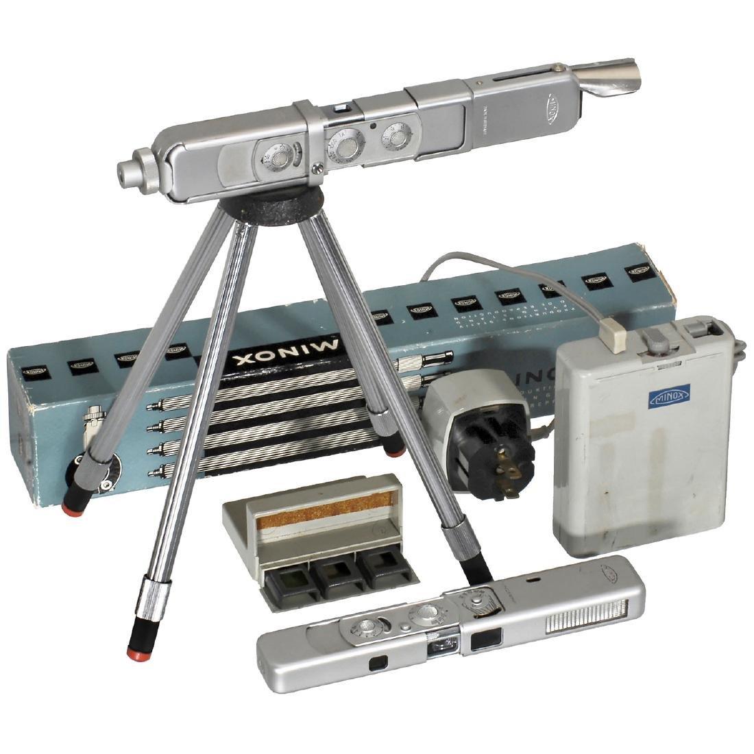 4 Minox Cameras and Accessories - 2