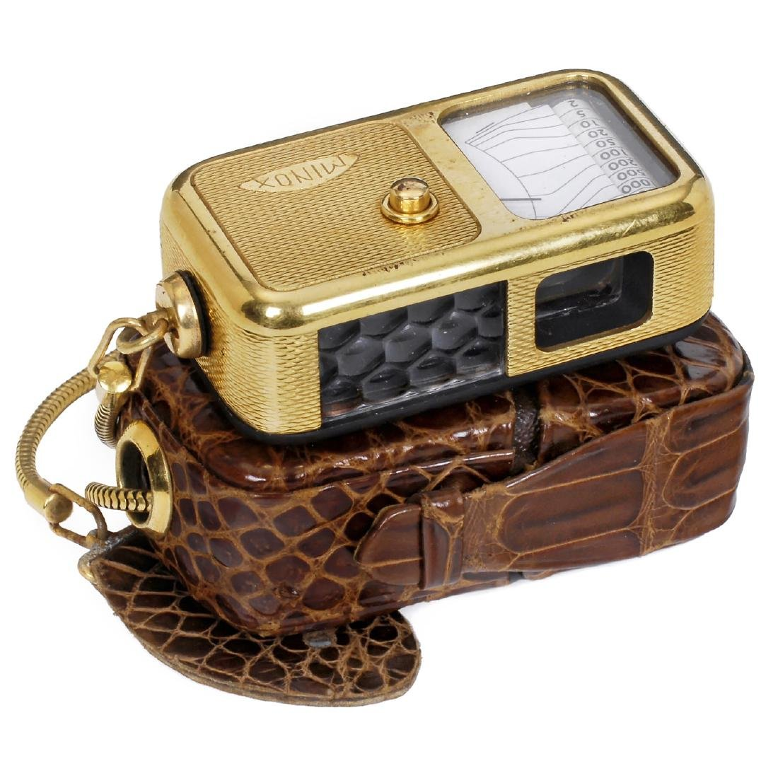 "Minox A ""Gold"" Lightmeter, c. 1948"