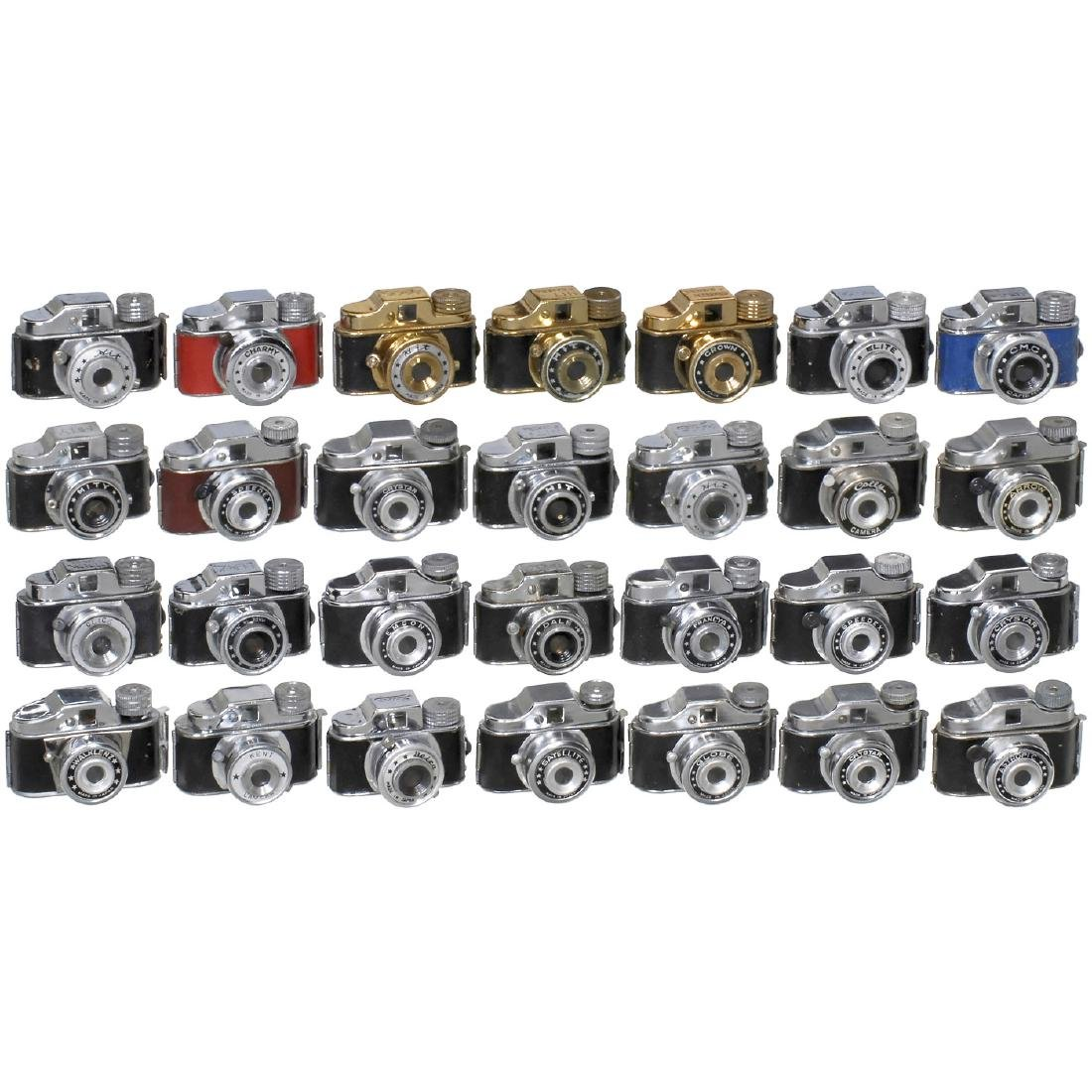 28 Hit-Type Cameras, 1950s