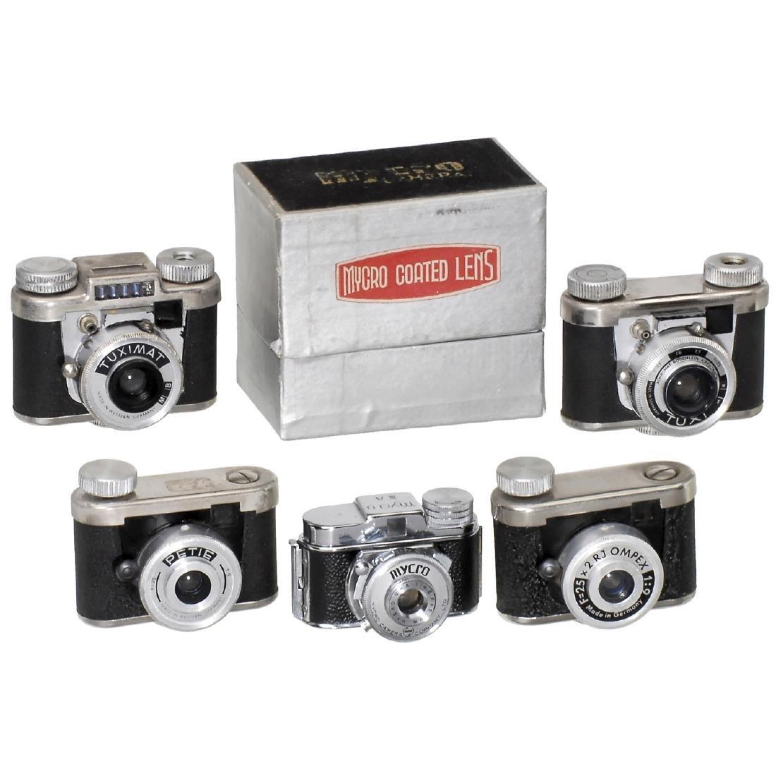 5 Cameras for 16 mm