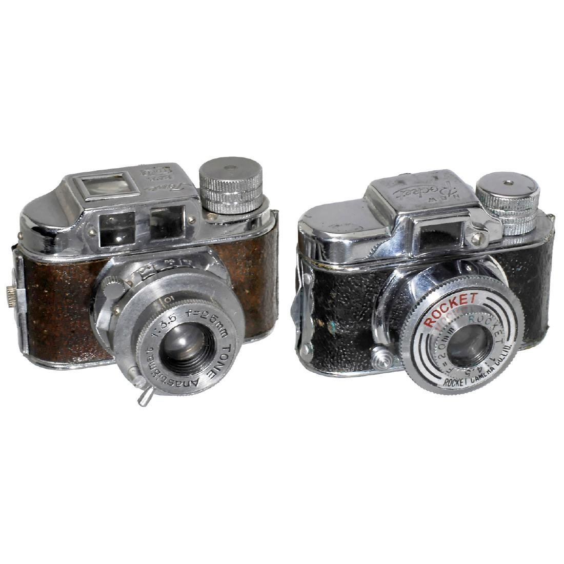 """Subminiature Cameras: """"Tone"""" and """"Rocket"""""""