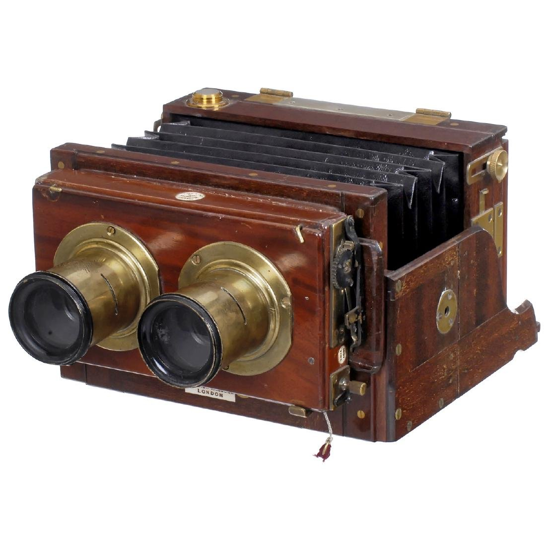 Stereo Field Camera by Watson & Sons, c. 1892