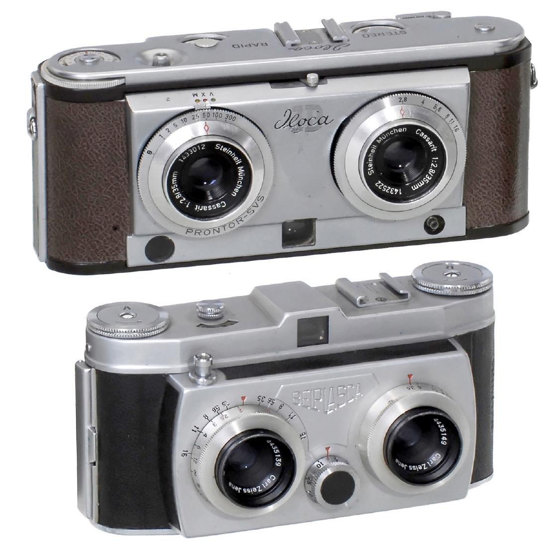 Iloca Stereo Rapid 2,8 and Belplasca, 1955