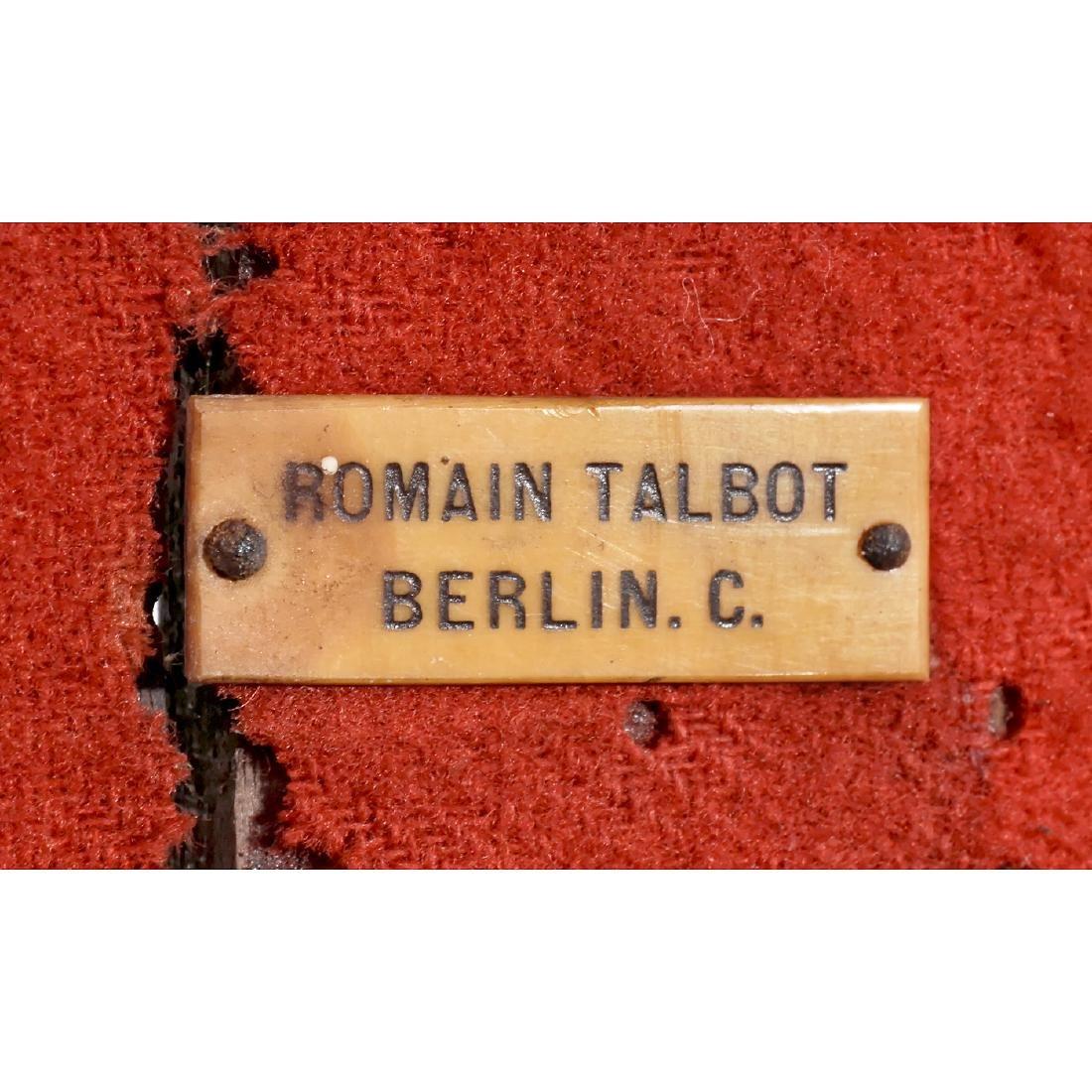 Stereo Camera 9 x 18 cm by Romain Talbot, Berlin, c. - 3