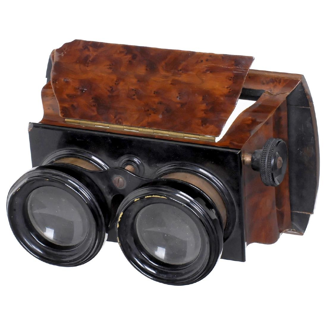 Brewster-Type Stereo Viewer, c. 1880