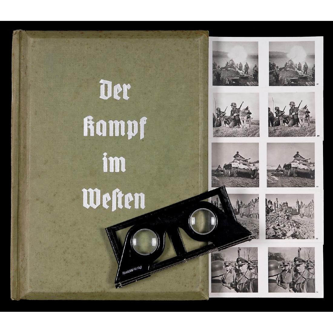 """Raumbild Album """"Der Kampf im Westen"""", 1940"""
