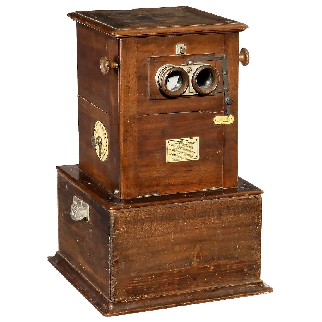 Le Taxiphote Table Stereo Viewer, c. 1910