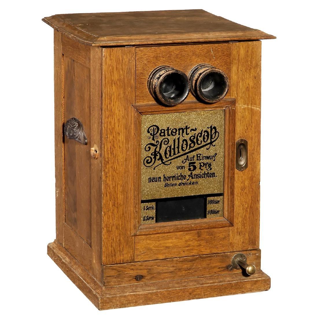 Kalloscop, Coin-Op Stereo Viewer, 1897 onwards