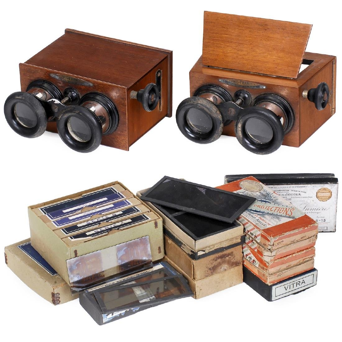 "2 ""Unis France"" Stereo Viewers"