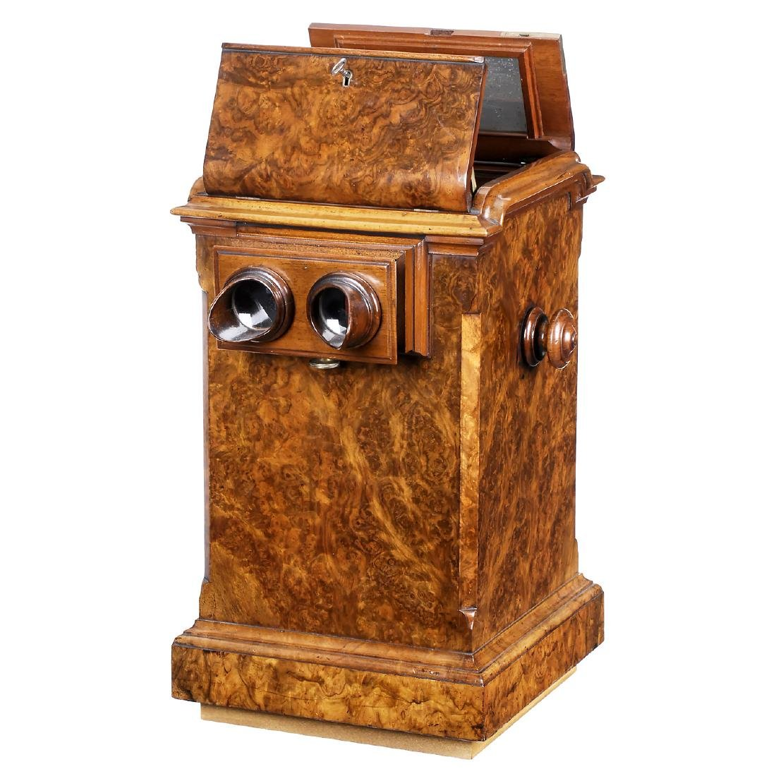 Luxury Table Stereo Viewer from England, c. 1870
