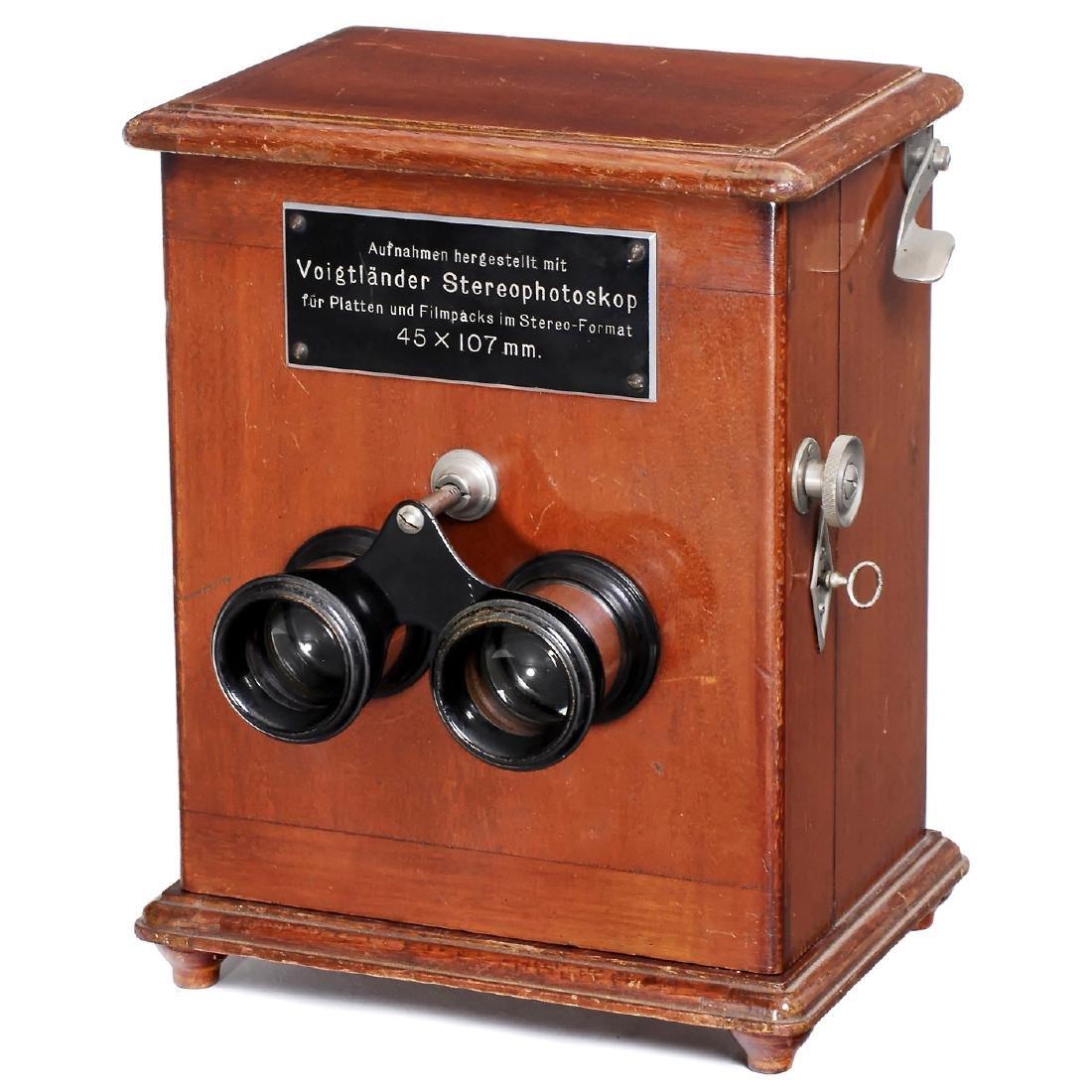 Voigtländer Stereophotoskop 45 x 107, c. 1910