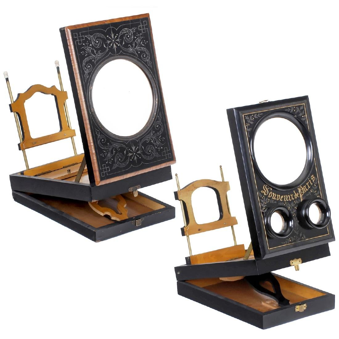 2 Graphoscopes, c. 1880