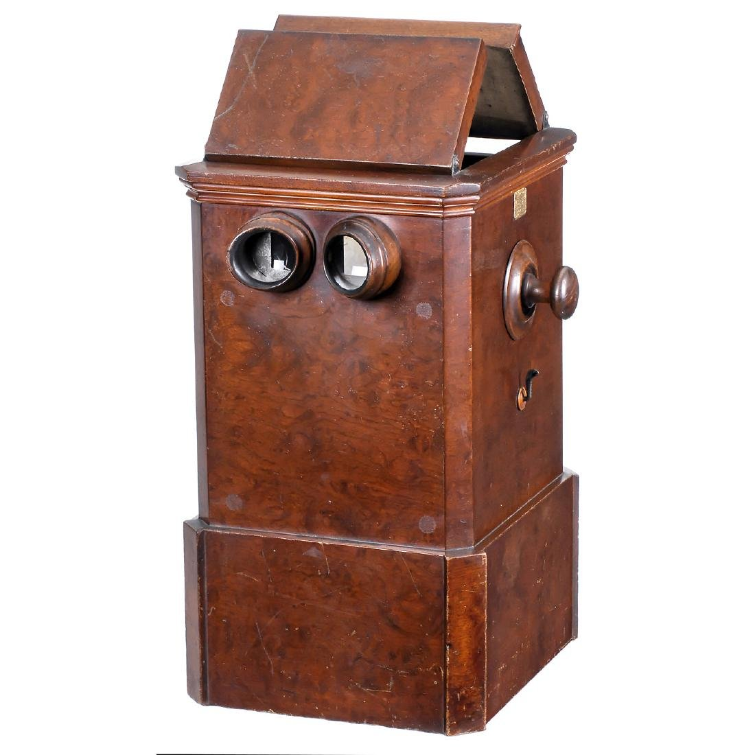 Sweetheart Table-Top Stereo Viewer for 2 Users, c. 1870