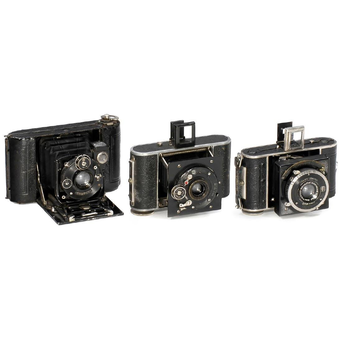 3 Rollfilm Cameras