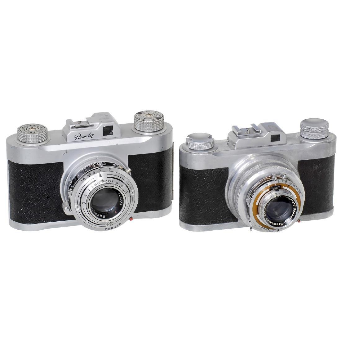 Panta 4,5 x 6 and Panta 6 x 6, 1950-1952