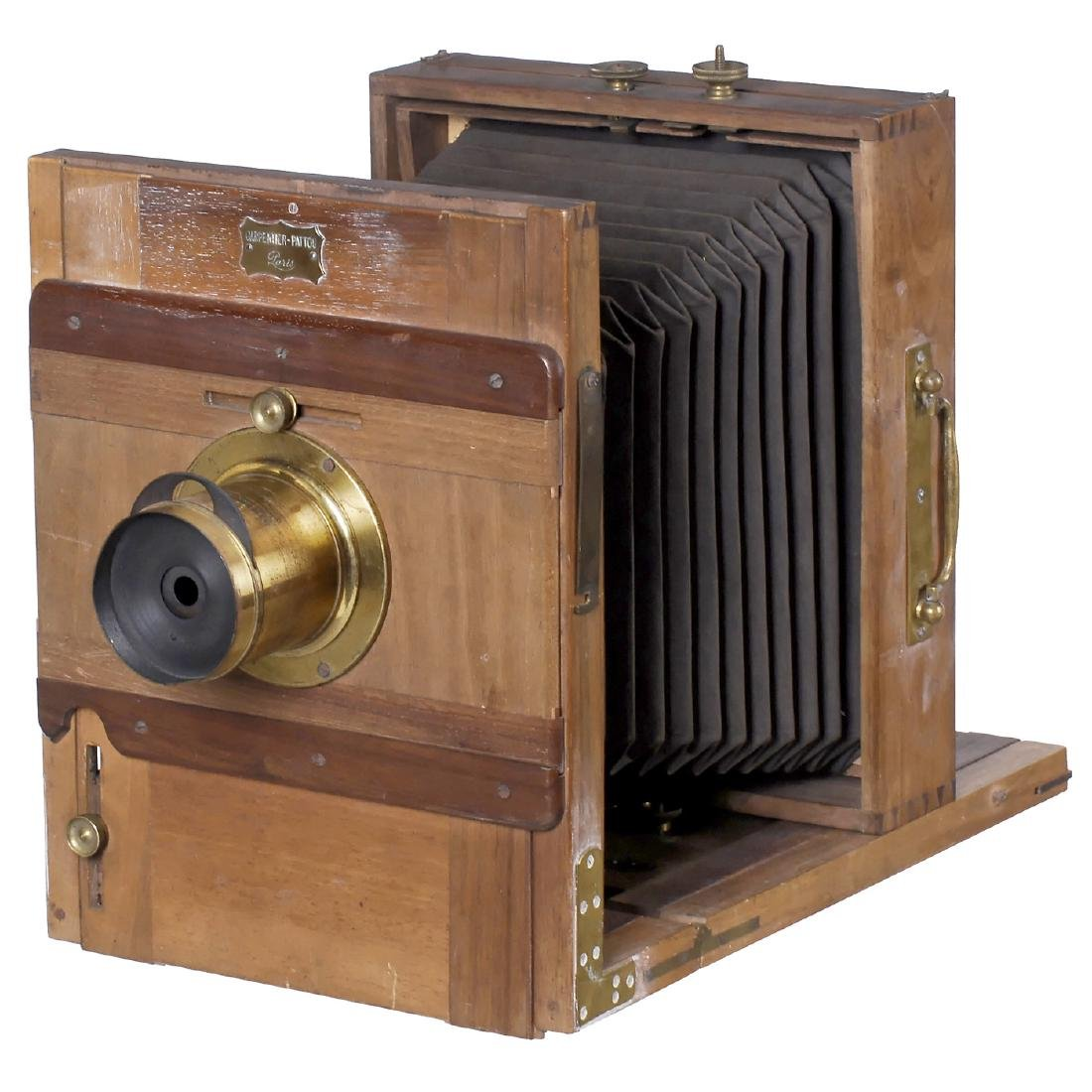 Field Camera by Carpentier-Pattou, c. 1870
