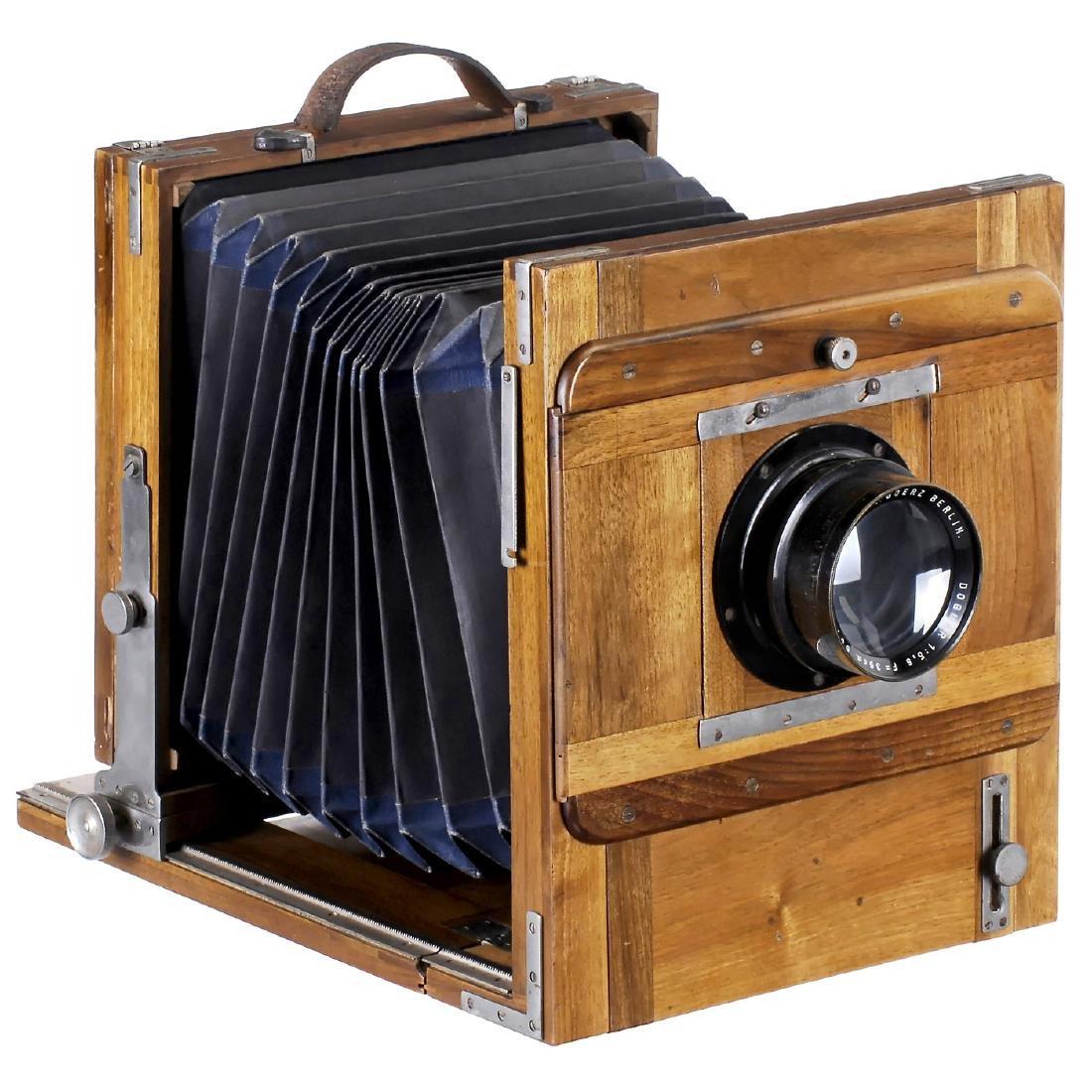 Field Camera 18 x 24 cm, c. 1900-1910