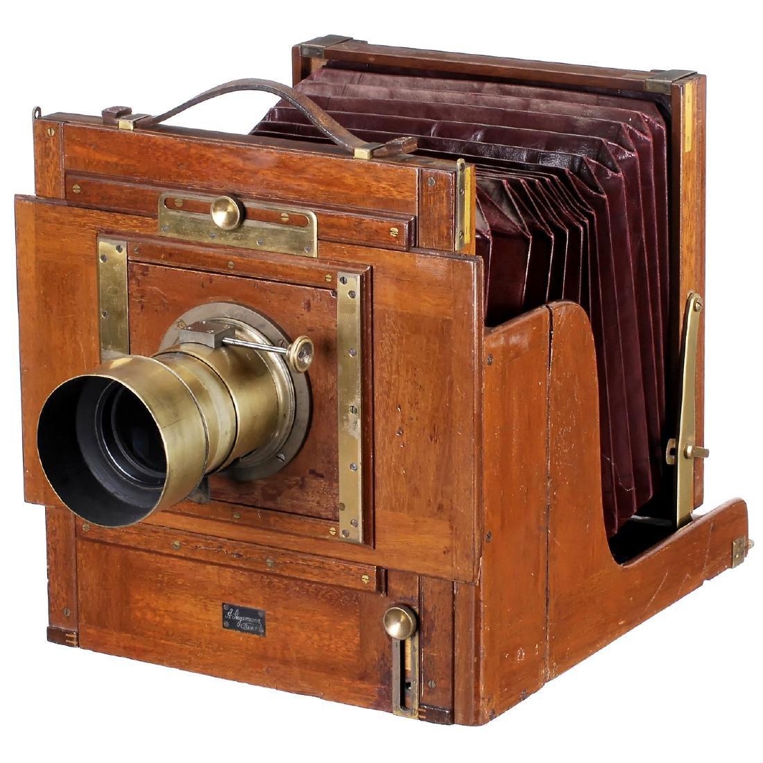 Stegemann Camera with Voigtländer Petzval-Type Lens of