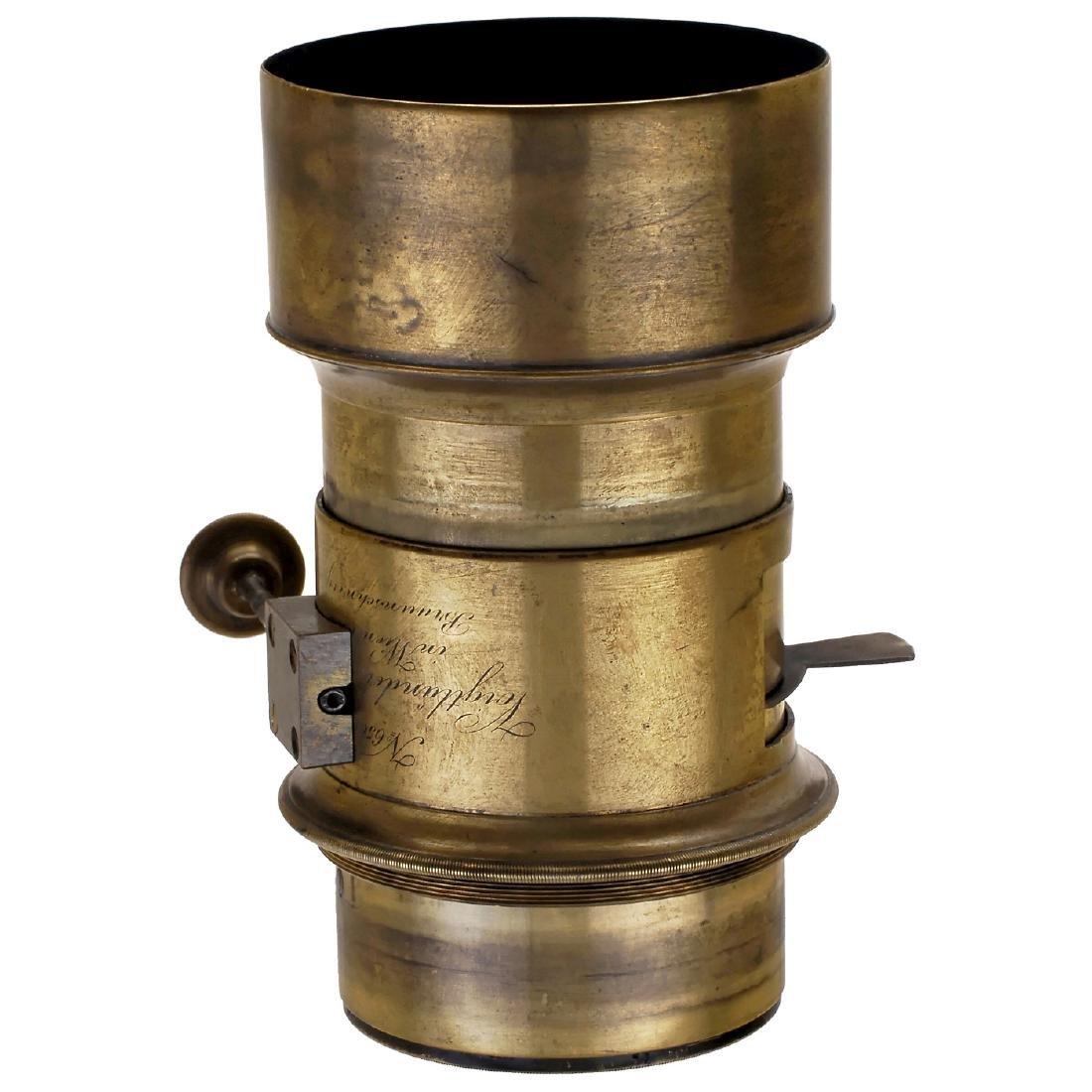 Stegemann Camera with Voigtländer Petzval-Type Lens of - 2