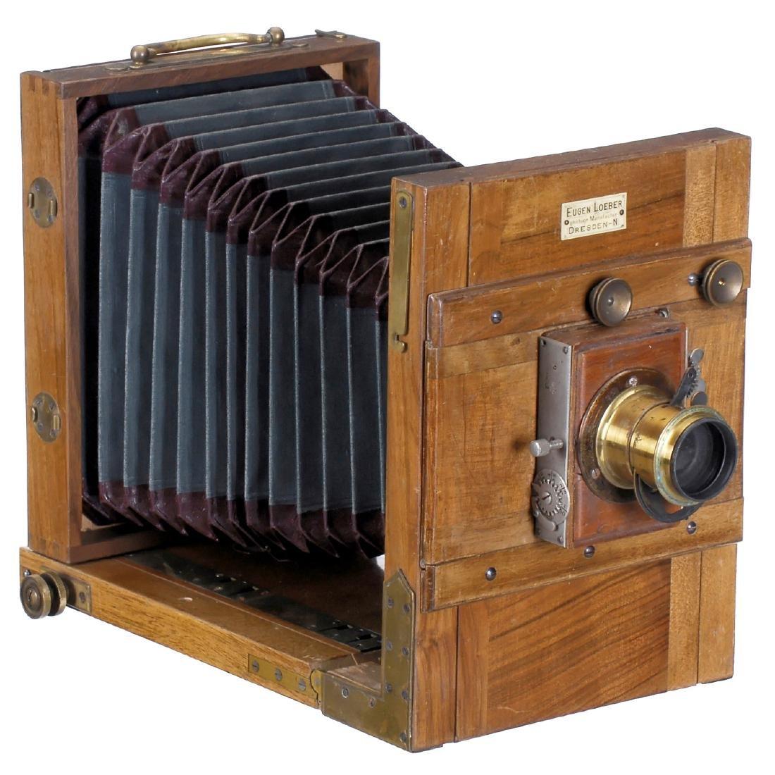Field Camera by Eugen Loeber, Dresden, 1895 onwards
