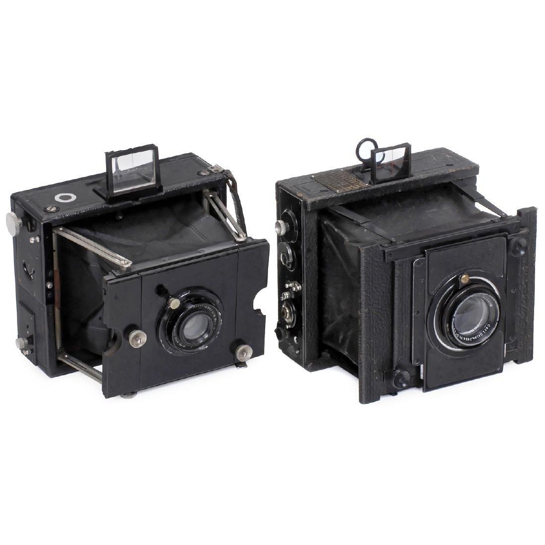 Ernemann und Goerz Strut-Folding Cameras