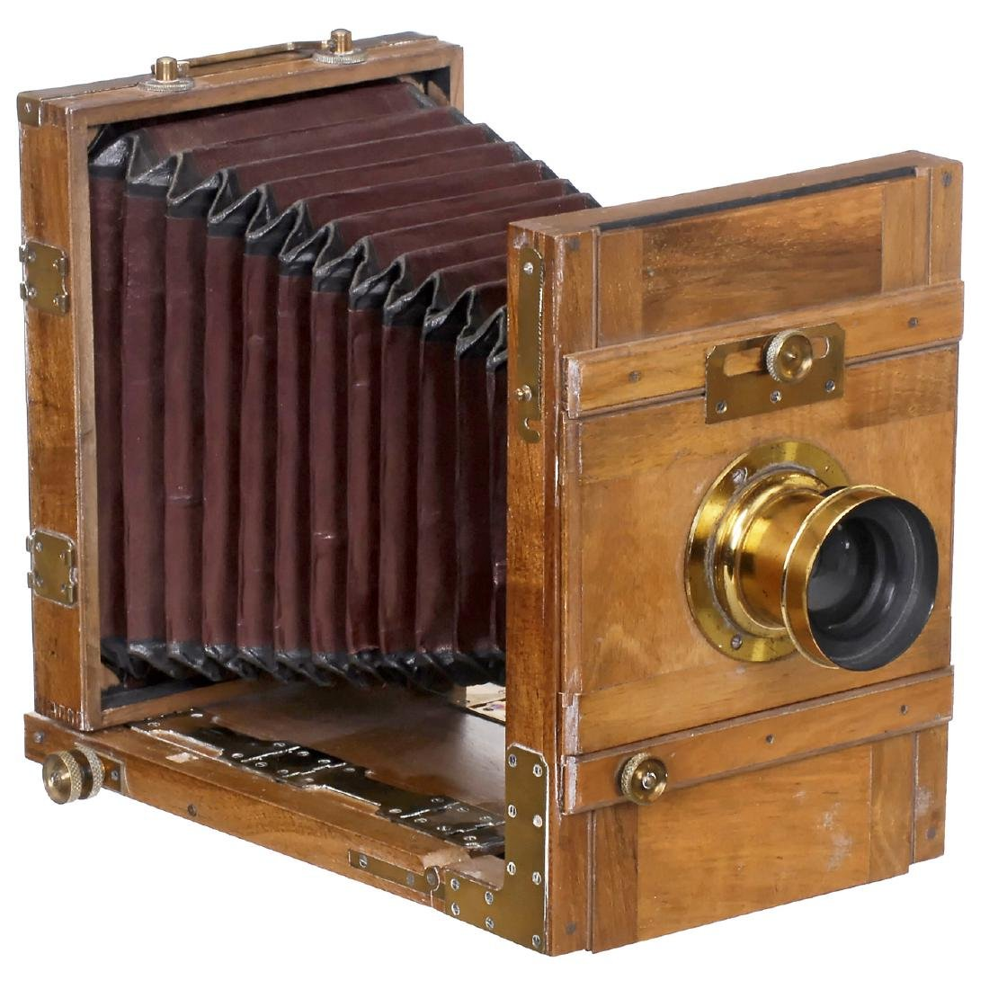 French Field Camera, c. 1880
