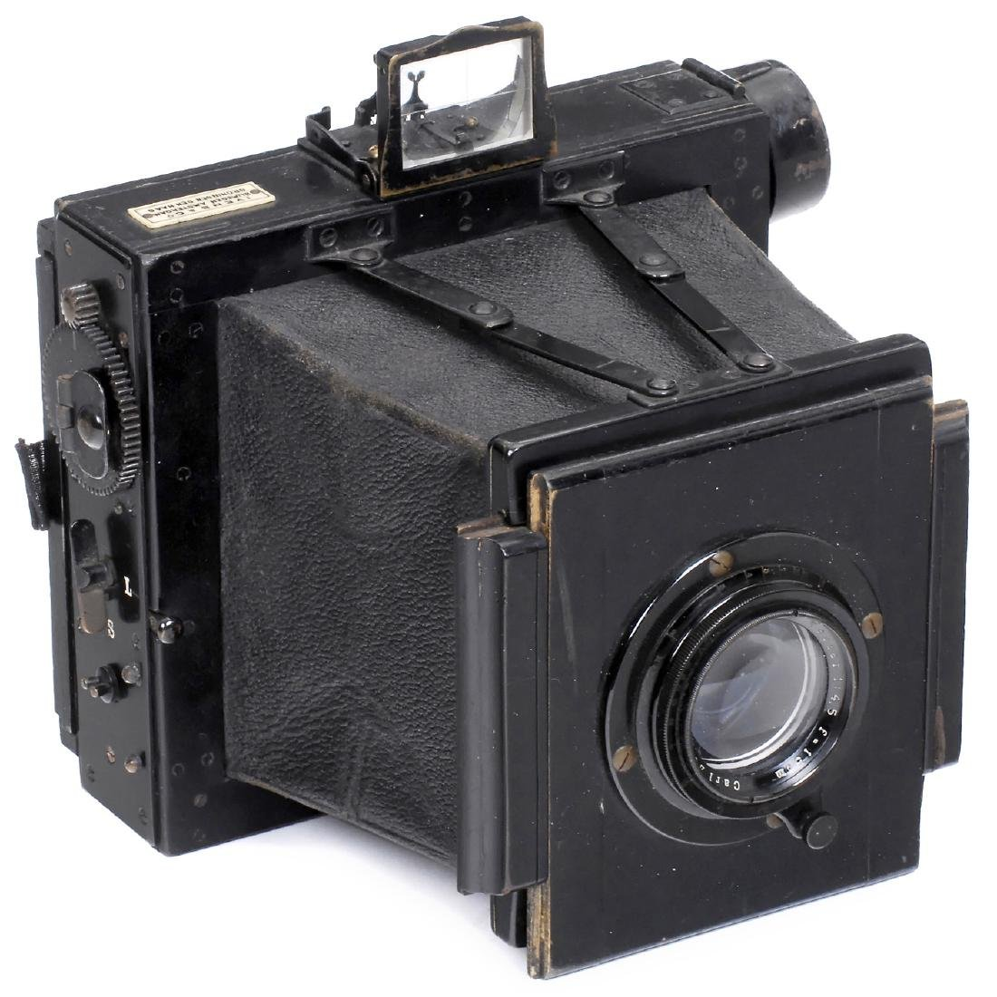 "Stegemann's ""Hand-Camera 9 x 12"", c. 1900"
