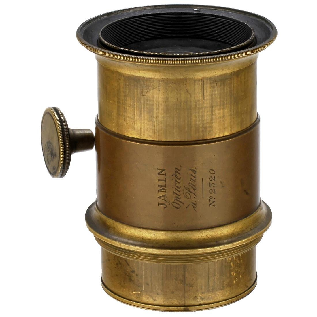 Early Jamin Portrait Lens (Petzval-Type), c. 1848