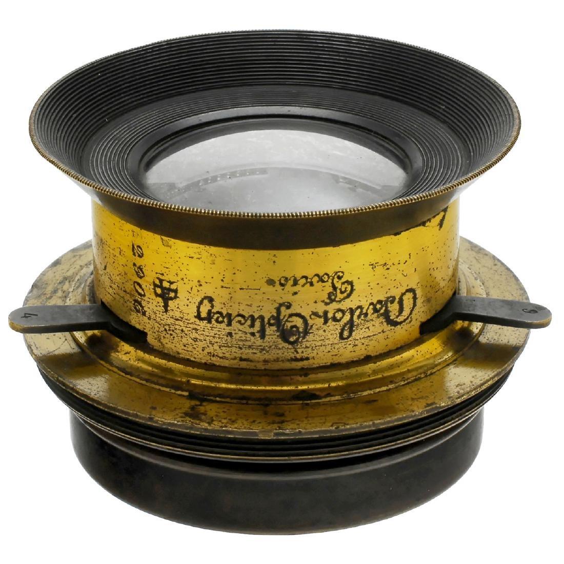 "Darlot ""Hémisphèrique"" Wide-Angle Lens, c. 1866"