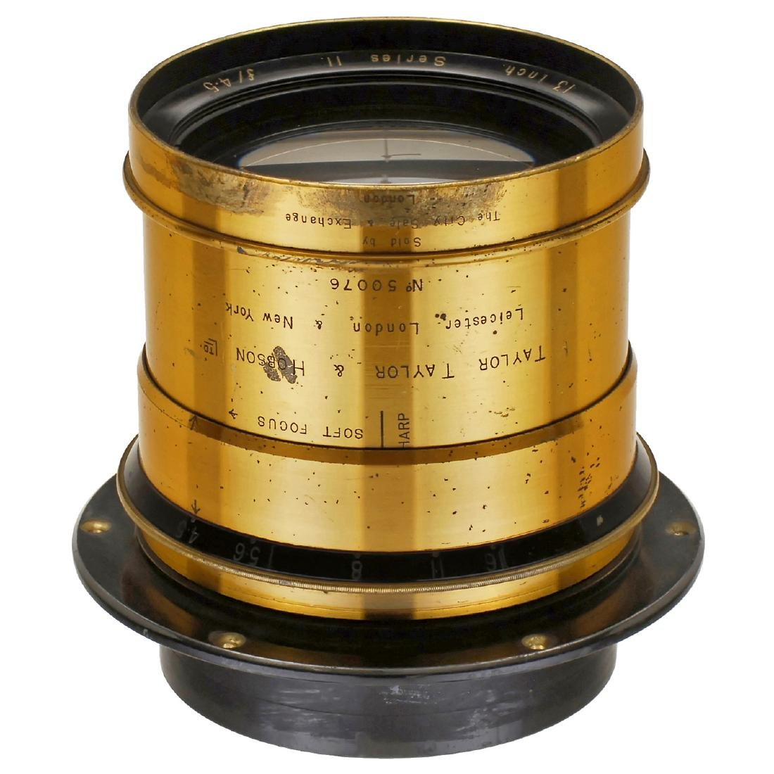 "Cooke ""Soft Focus"" Anastigmat 4,5/13 in., c. 1905"