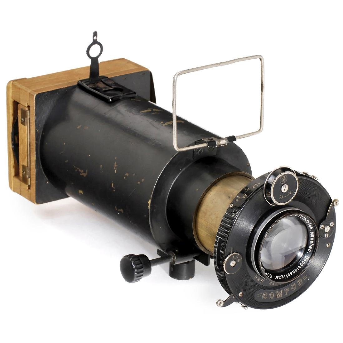 Telephoto Camera with Coronar 4,5/15 cm, c. 1925