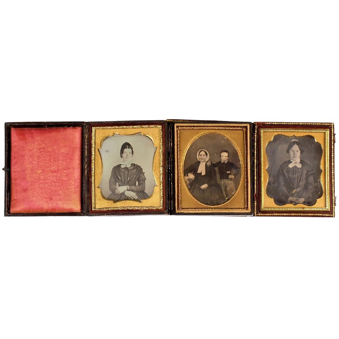 3 Daguerreotypes (1/8 Plates), c. 1845-50 - 2