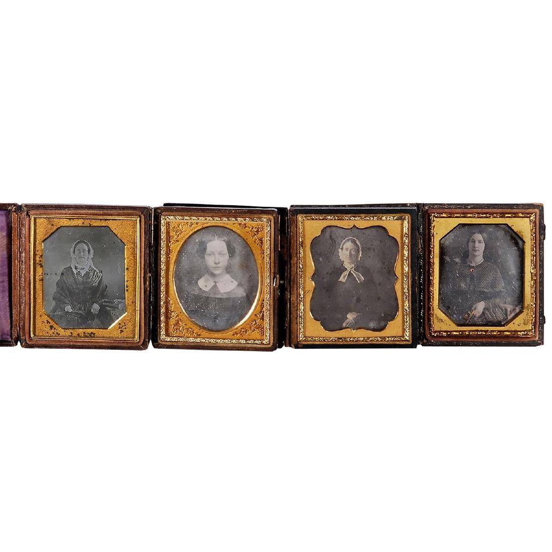 4 Daguerreotypes (1/6 Plate), c. 1845-50