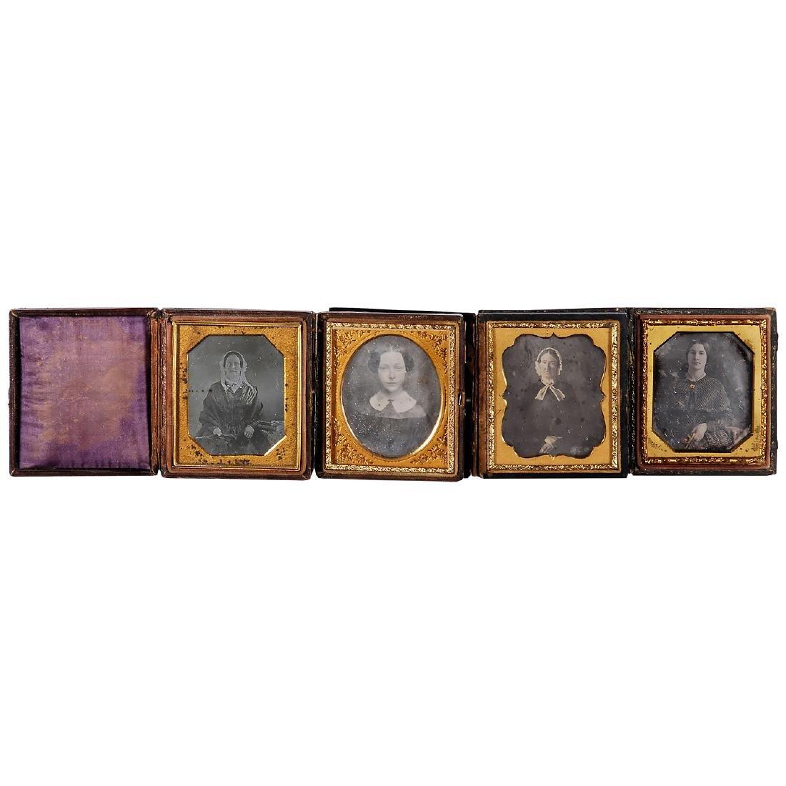 4 Daguerreotypes (1/6 Plate), c. 1845-50 - 2