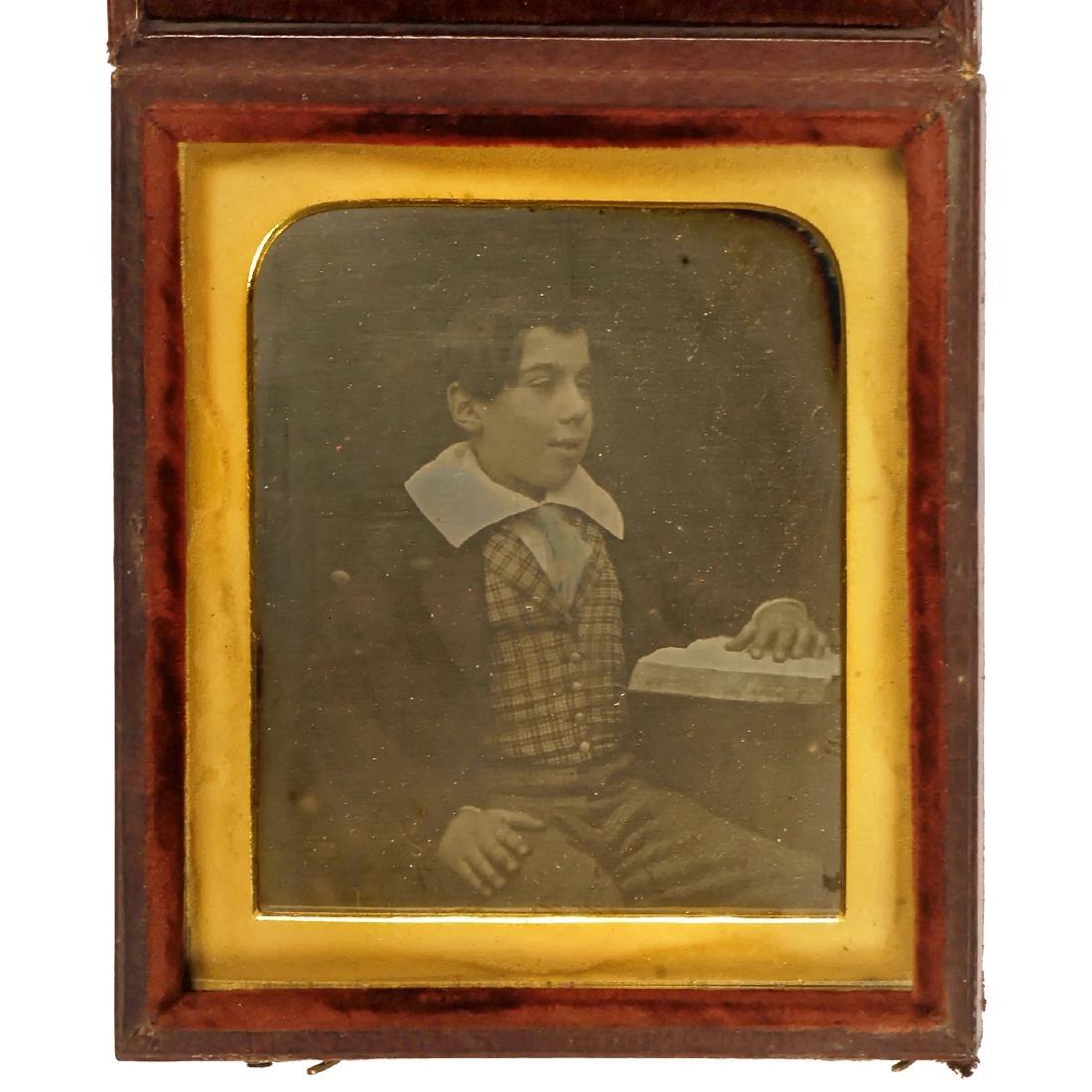 Daguerreotype of a Boy, c. 1845