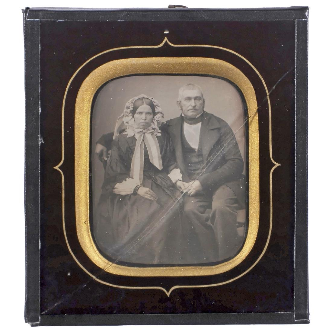 Daguerreotype by Crespon Fils and 4 Others, c. 1845 - 2