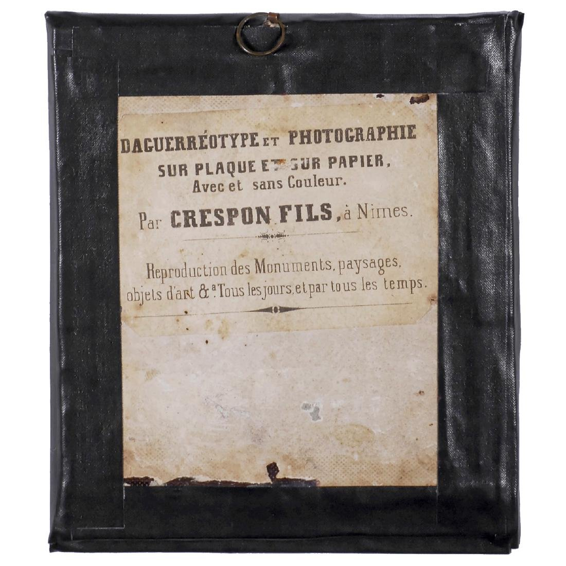 Daguerreotype by Crespon Fils and 4 Others, c. 1845 - 3