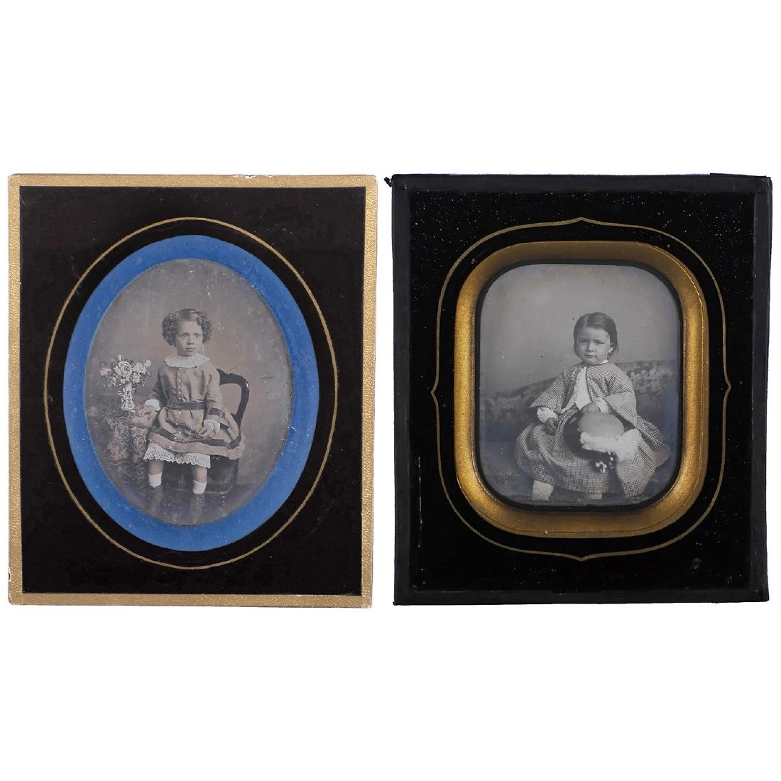 2 Daguerreotypes (Children), c. 1845-46