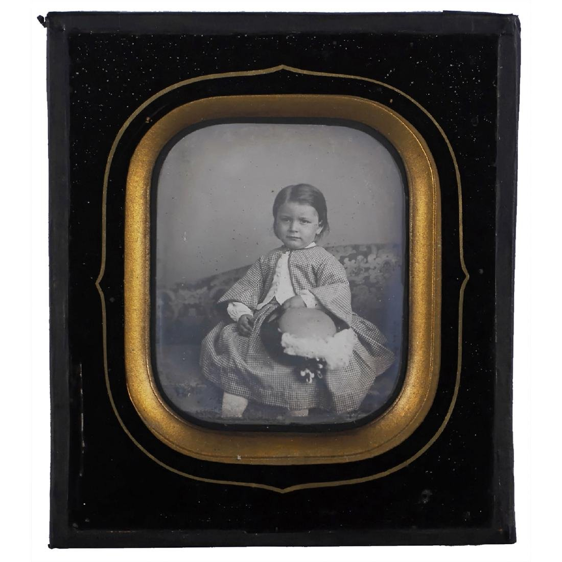 2 Daguerreotypes (Children), c. 1845-46 - 4