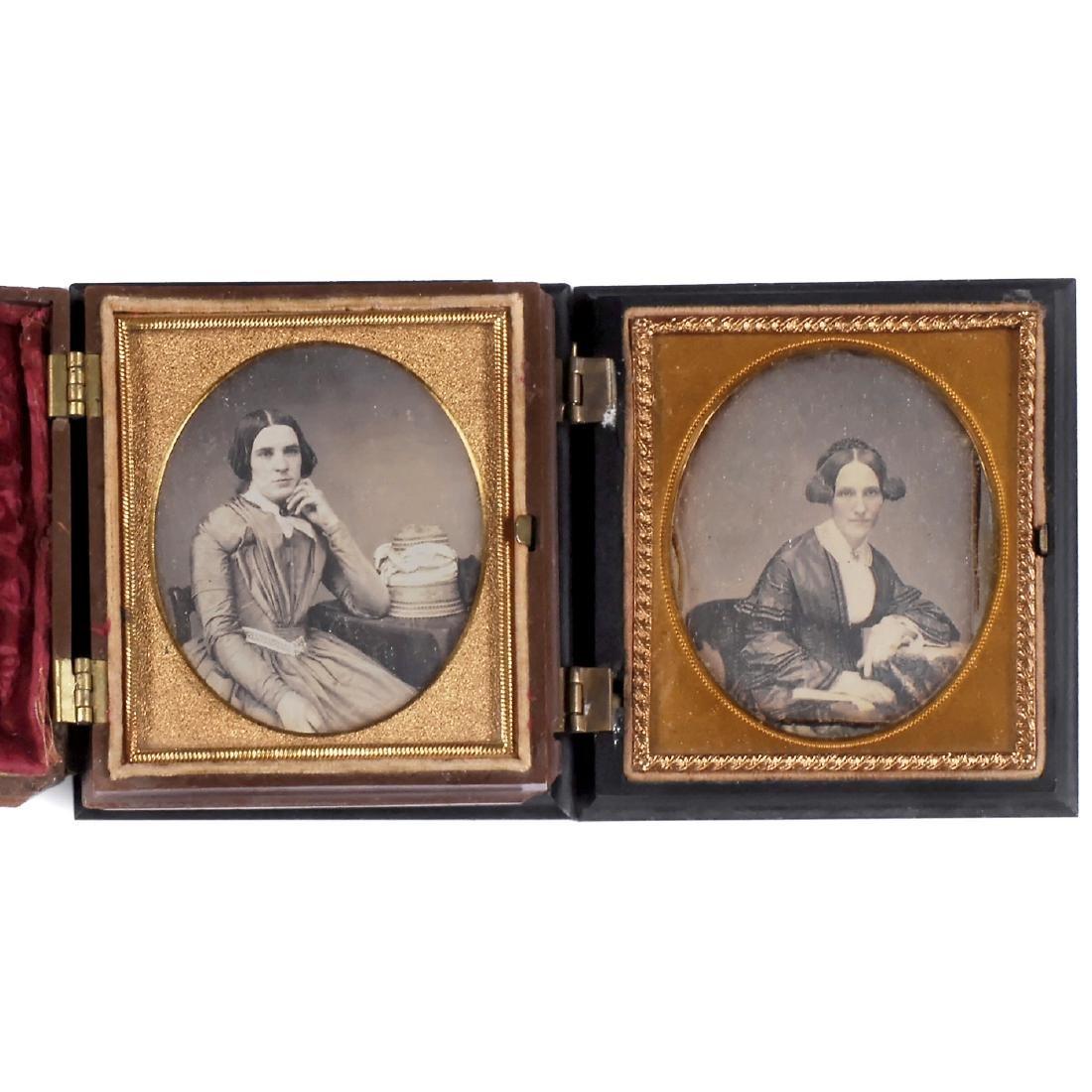 2 Daguerreotypes from America, c. 1851