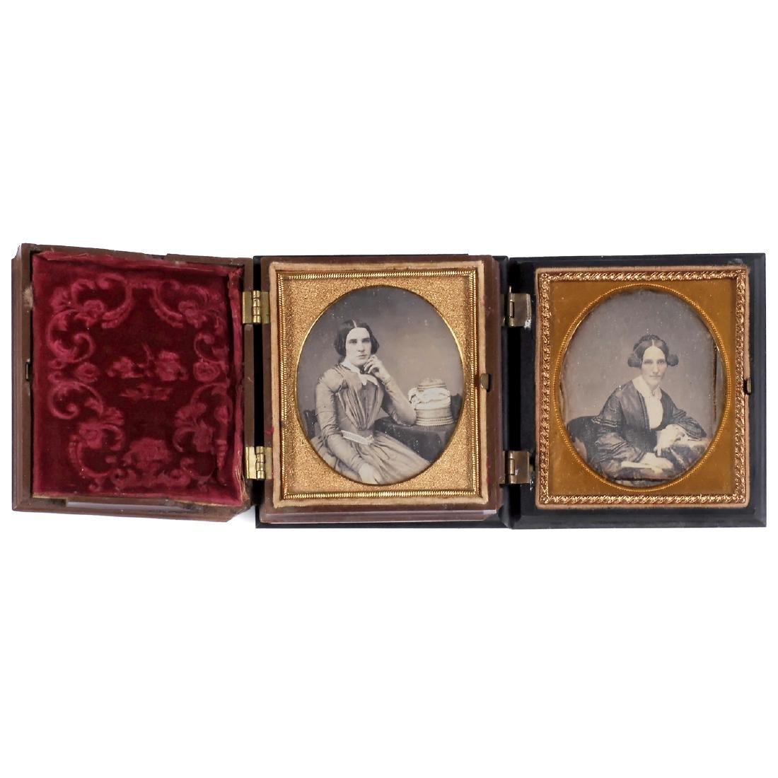 2 Daguerreotypes from America, c. 1851 - 2