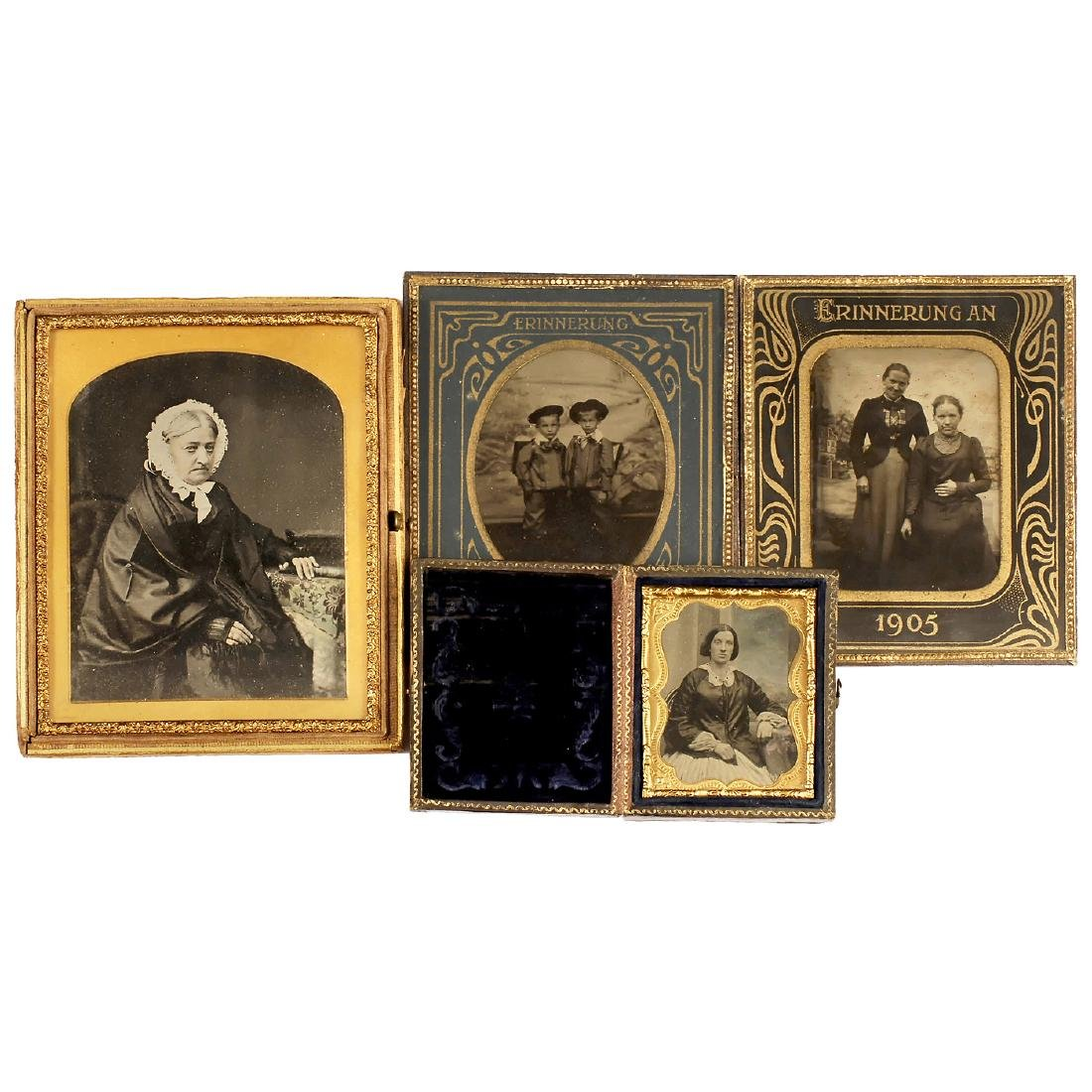 3 Ambrotypes and 10 Tintypes, 1860-1905 - 2