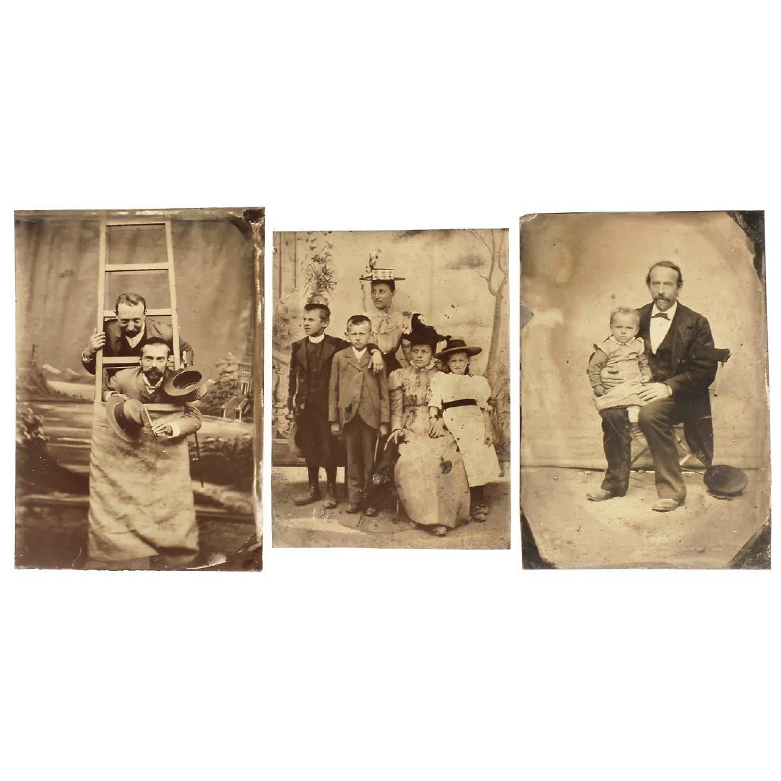 3 Ambrotypes and 10 Tintypes, 1860-1905 - 3