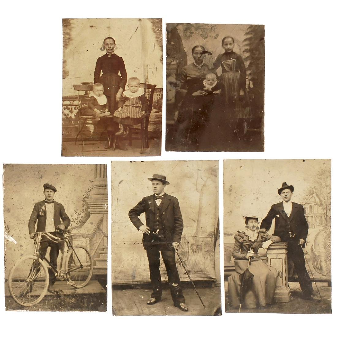 3 Ambrotypes and 10 Tintypes, 1860-1905 - 4