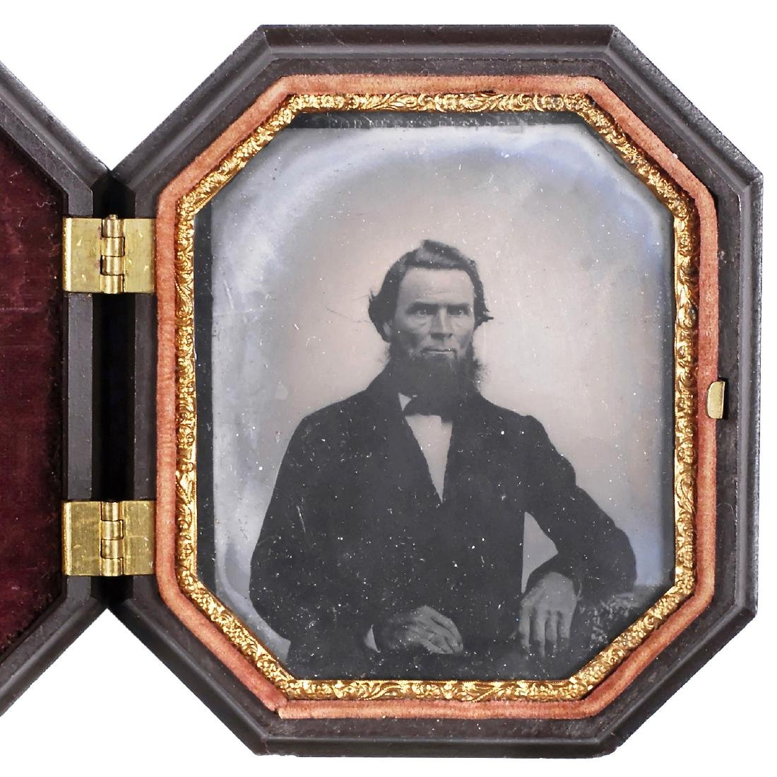 Union Case with Ambrotype, c. 1856