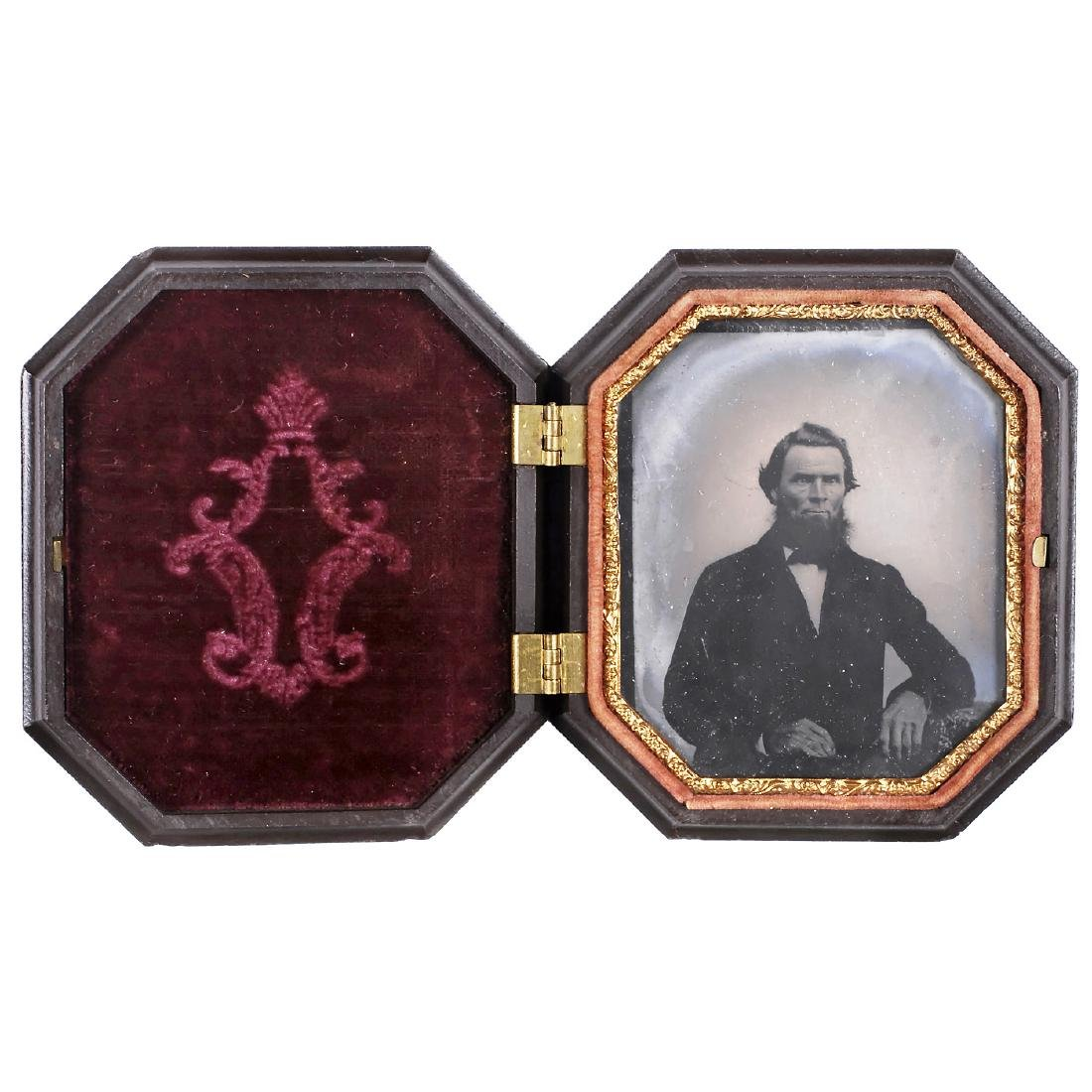 Union Case with Ambrotype, c. 1856 - 2