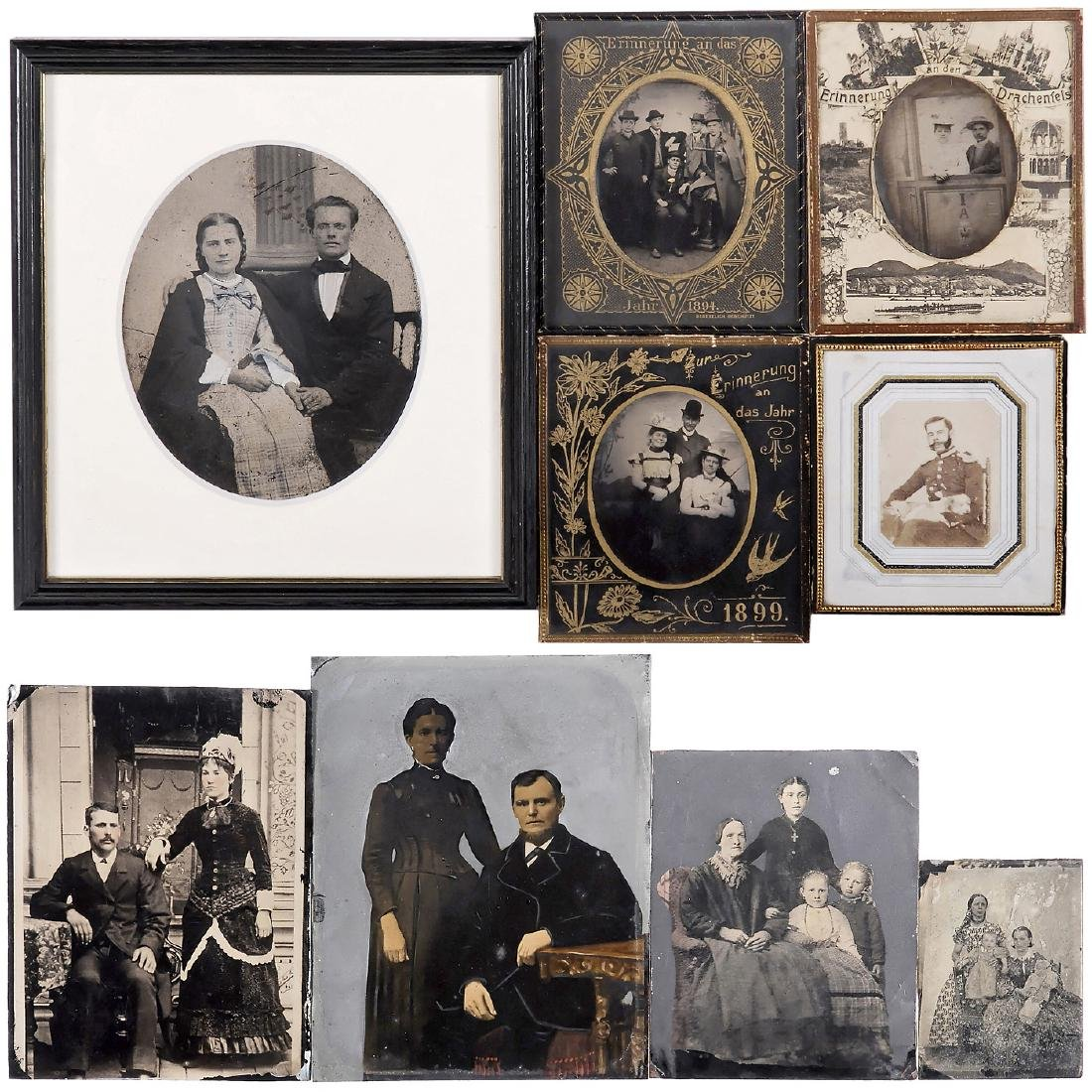 Ferrotypes and Ambrotypes