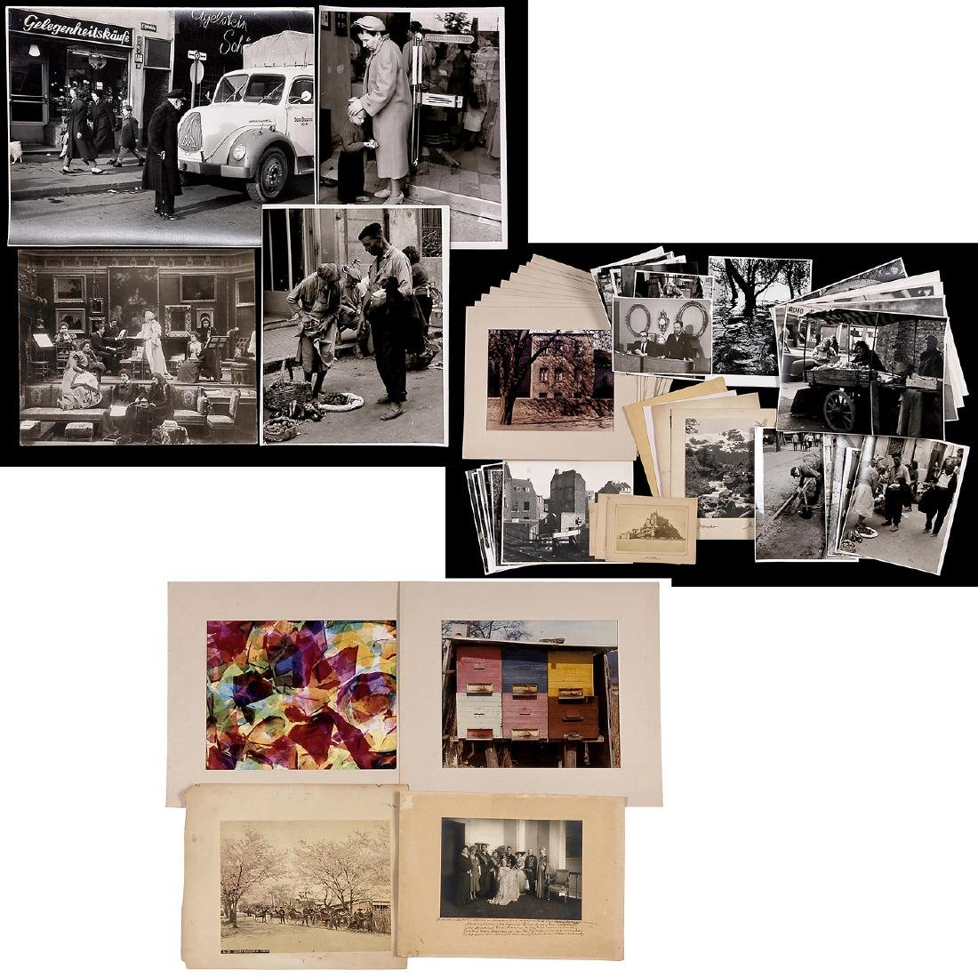 Collection of Photographs, predominantly 1950-60